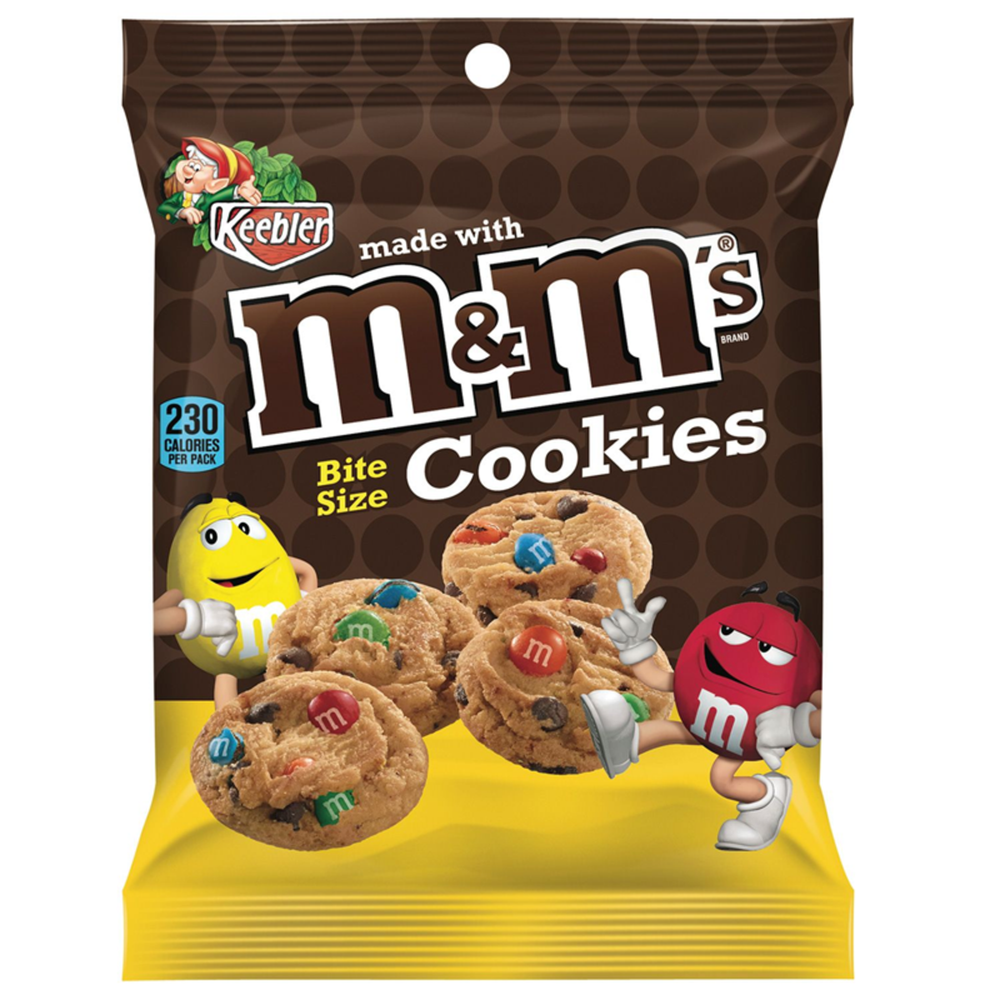 Keebler M&M Bite Size Cookies 45g