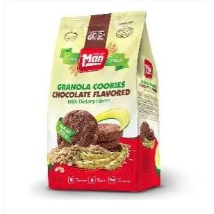 Man Cookie Bag Granola Chocolate 250Gr