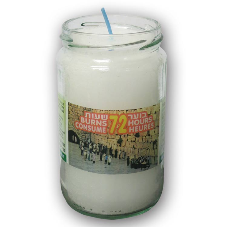 Neronim Memorial Candle Glass 72Hr