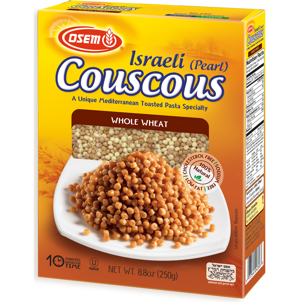 Osem Whole Wheat Pearl Couscous 250G