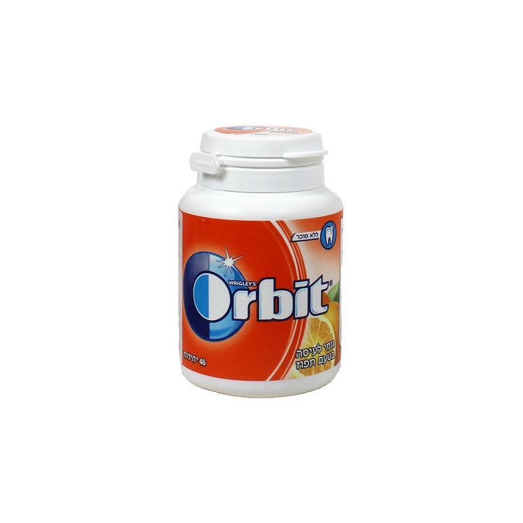 Orbit Bottle Orange 46 Pieces Sugar Free Gum