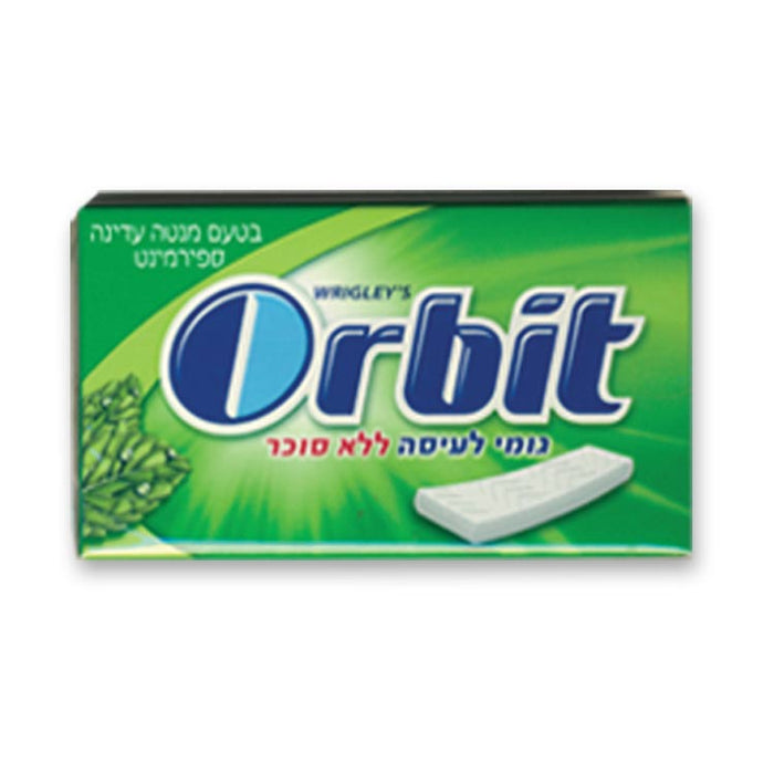 Orbit Proffessional Spearmint - Green Sugar Free 12 x 14 Tabs