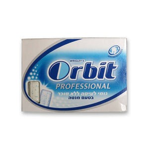 Orbit Proffessional Strong Mint - Blue Sugar Free 12 x 10 Tabs