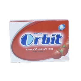 Orbit Strawberry Pellets Sugar Free 12 x 10 Tabs