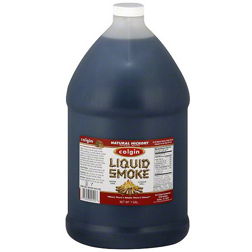 Colgin Natural Hickory Liquid Smoke 1Gallon