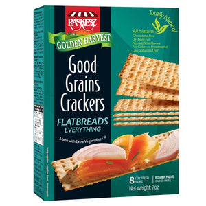 Paskesz Good Grain Crackers Flatbread Everything 207Gr