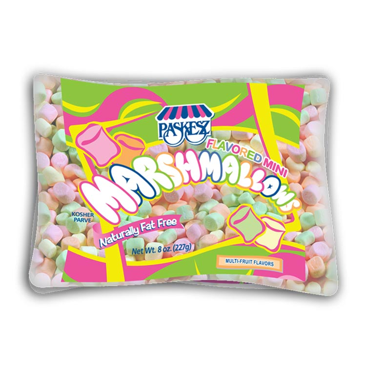 Paskesz Marshmallows Mini Flavoured 227Gr