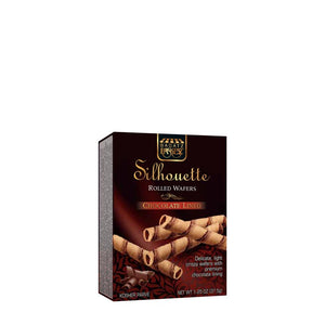 Paskesz Silhouette Rolled Wafers Chocolate 75Gr