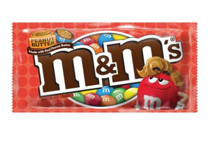 5 x M&M's Peanut Butter 42.5g