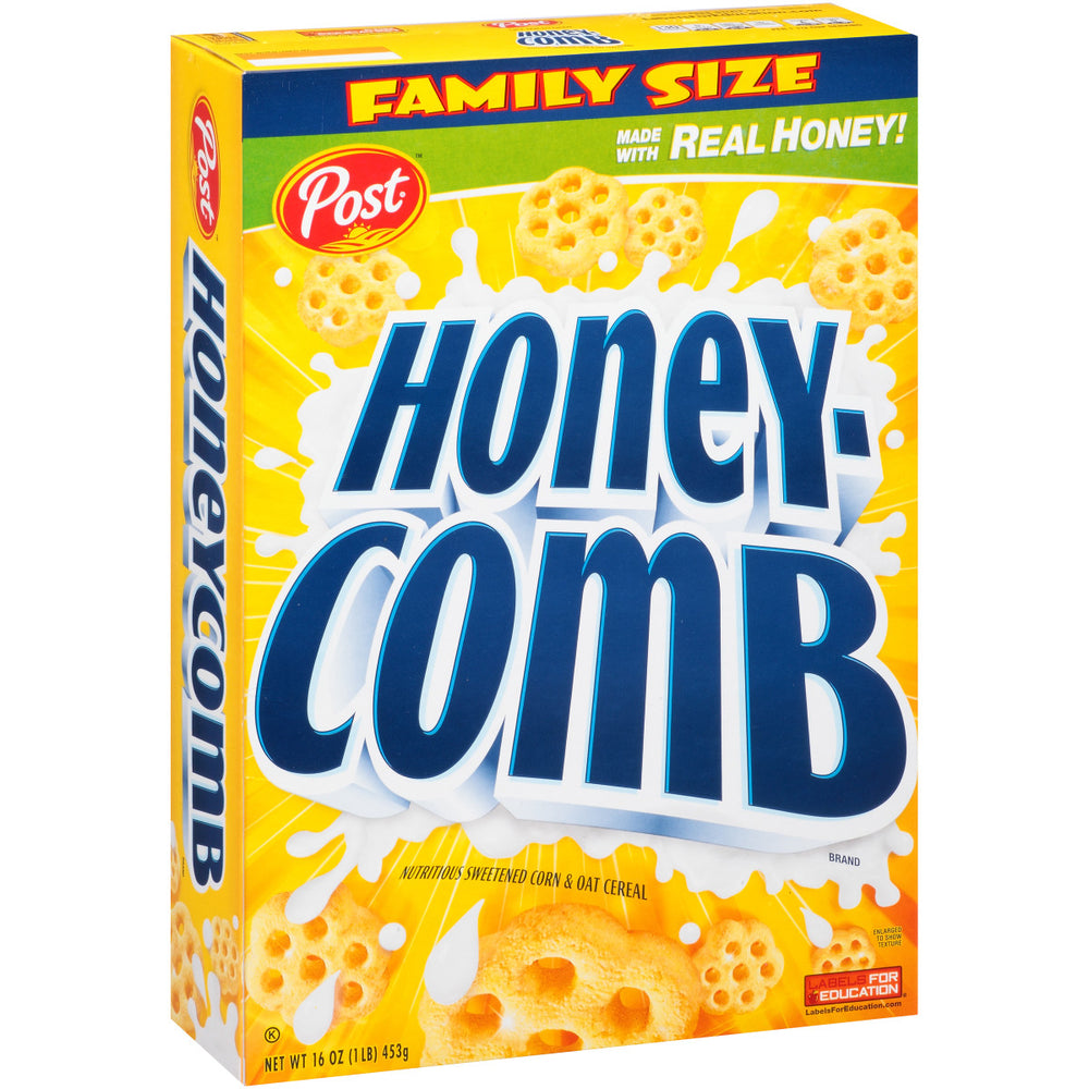 Post Honey Comb Cereal 453g