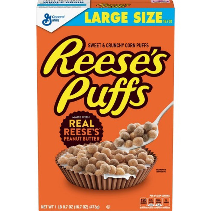 Reese's Puffs Cereal 473g