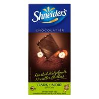Shneiders Dark Chocolate With Roasted Hazelnuts 100G