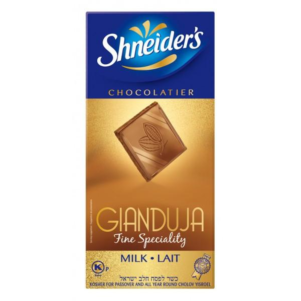 Shneiders Gianduja Milk Chocolate 100G