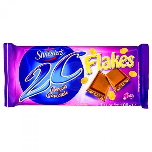 Shneiders 2C Cereals & Chocolate Flake Bars