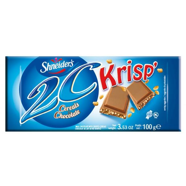 Shneiders 2C Cereals & Chocolate Krisp' Bars