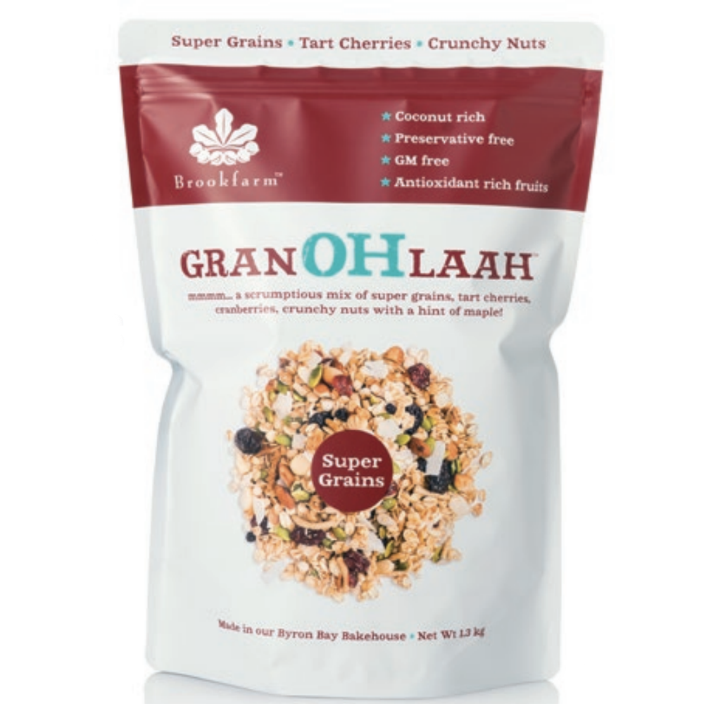Brookfarm Supergrains Granohlaah Cranberries & Tart Cherries 1.3kg