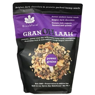 Brookfarm Powergrains Granohlaah Belgian Dark Chocolate 1Kg