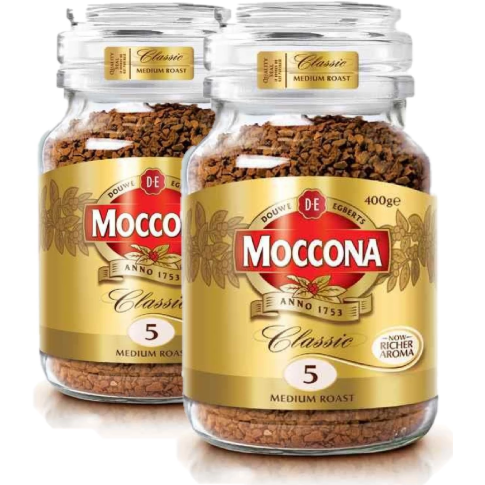 Moccona Classic Medium Roast 2 x 400G