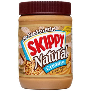 Skippy Natural Creamy Peanut Butter 750g