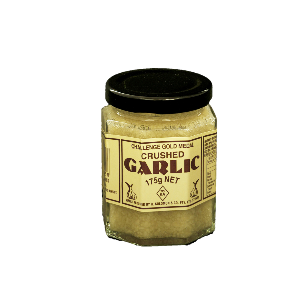 Solomon Crushed Garlic 175Gr