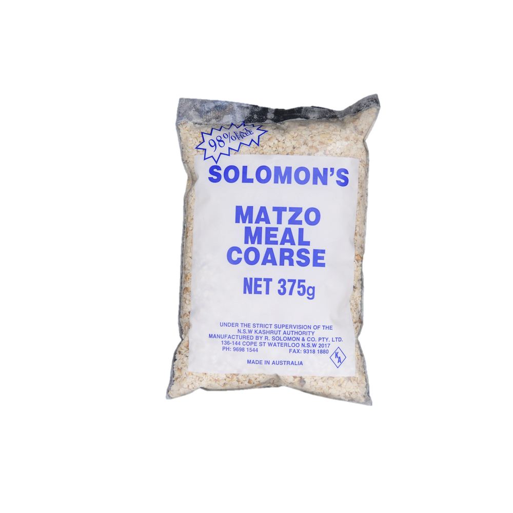 Solomon Matzo Meal Coarse 375Gr