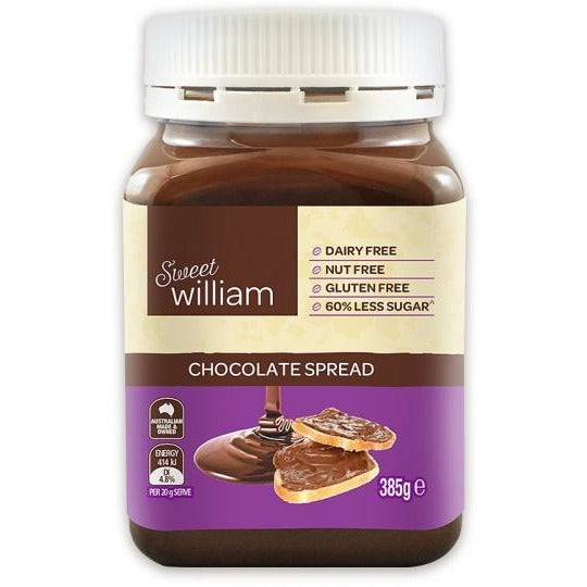 Sweet William Chocolate Spread 385Gr