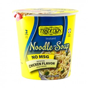 Tradition No Msg Chicken Soup Cup 65Gr