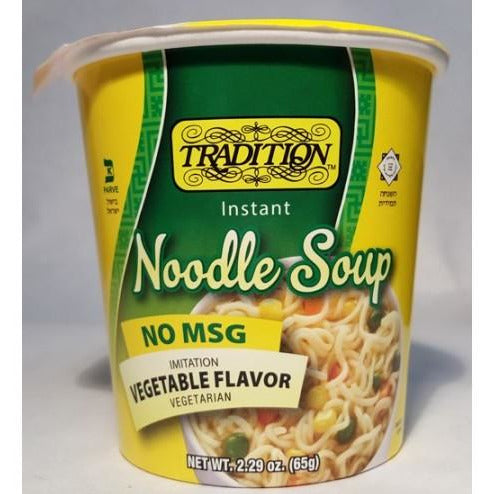 Tradition No Msg Vegetable Soup Cup 65Gr