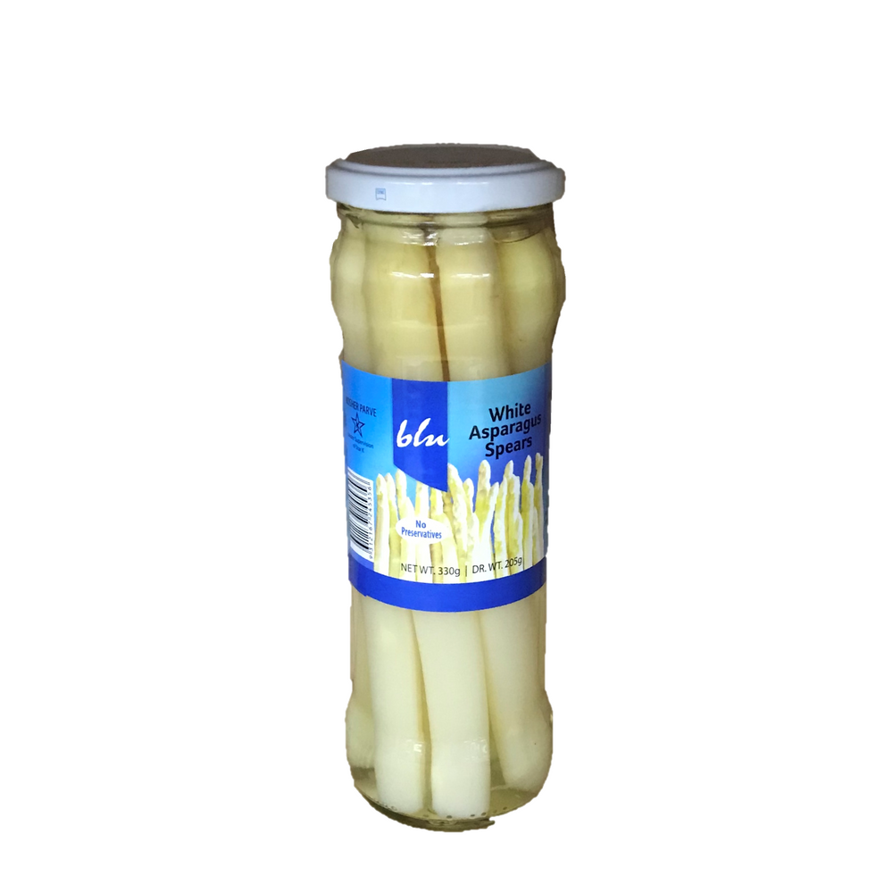 Blu White Asparagus Spears 330g