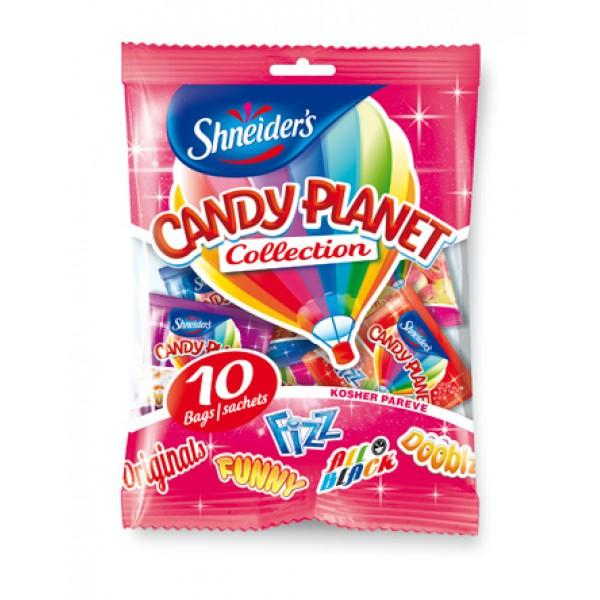 Candy Planet Multipack 10 Individual Bags Mixed Collection 280g