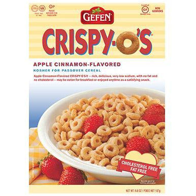 Gefen Crispy O's Cereal Apple Cinnamon Klp 187g