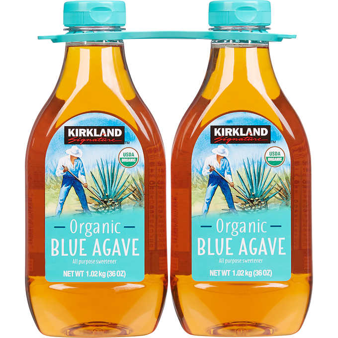Kirkland Signature Organic Blue Agave Twin Pack 2x1.02KG