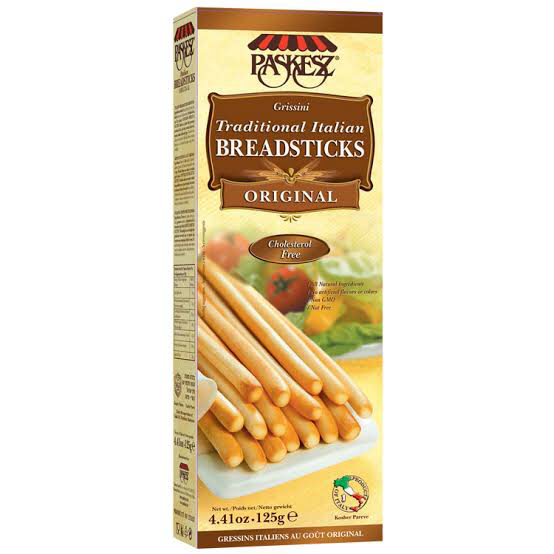 Paskesz Breadsticks Original 130Gr