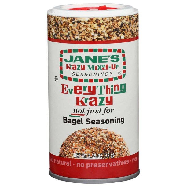 Jane's Krazy Mixed Up Everything Bagel Seasoning 78g