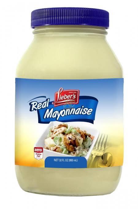 Liebers Real Mayonnaise 950Ml