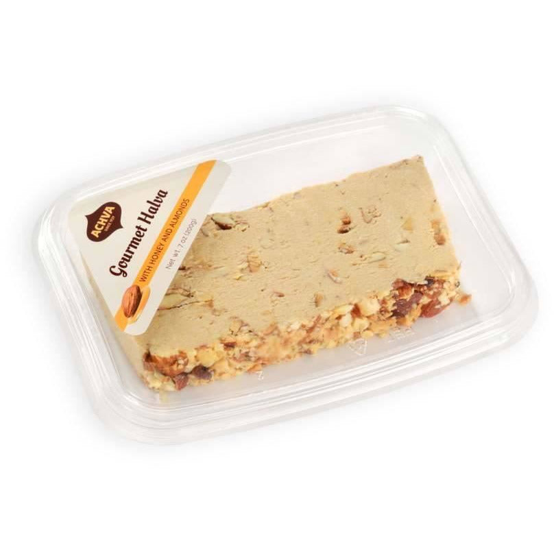 Achva Gourmet Halva With Honey & Almonds 200gr