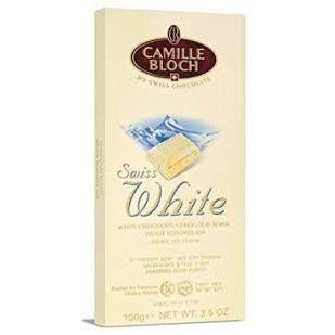 Camille Bloch Swiss White Chocolate 100G