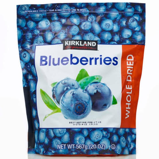 Kirkland Signature Whole Dried Blueberries 567G