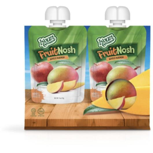 Bgan 100% Fruit Nosh Apple Mango 2 x 113g