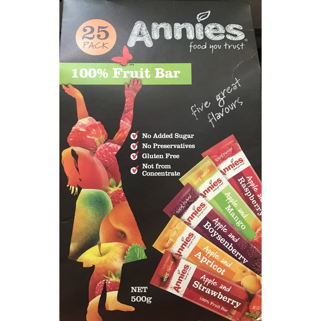 Annies Fruit Bars 25 x 20g