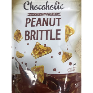 Chocoholic Chocolate Covered Peanut Brittle 112g