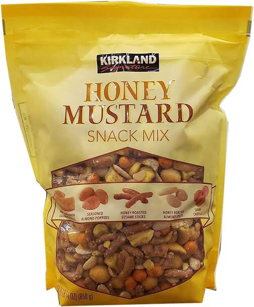 Kirkland Signature Honey Mustard Snack Mix 850g