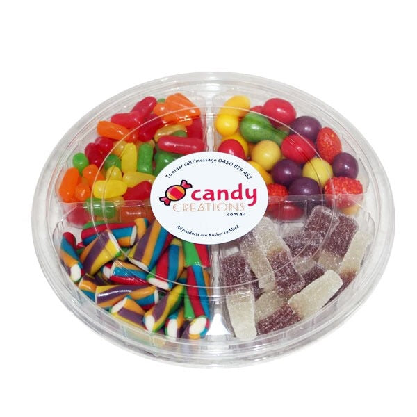 Assorted Candy Gift Tray 500g