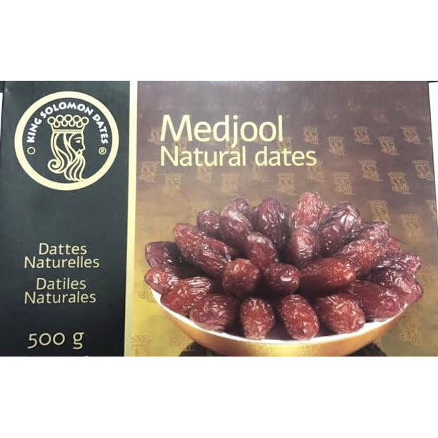 King Solomon Medjoul Natural Dates 500g