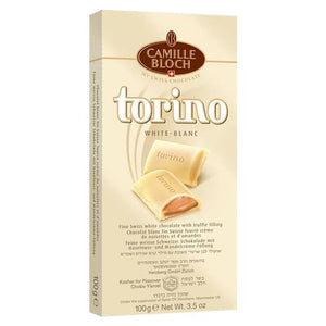 Camille Bloch Torino White Milk Chocolate 100G