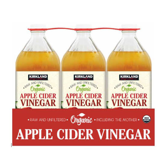 Kirkland Signature Organic Apple Cider Vinegar 3 x 946ml