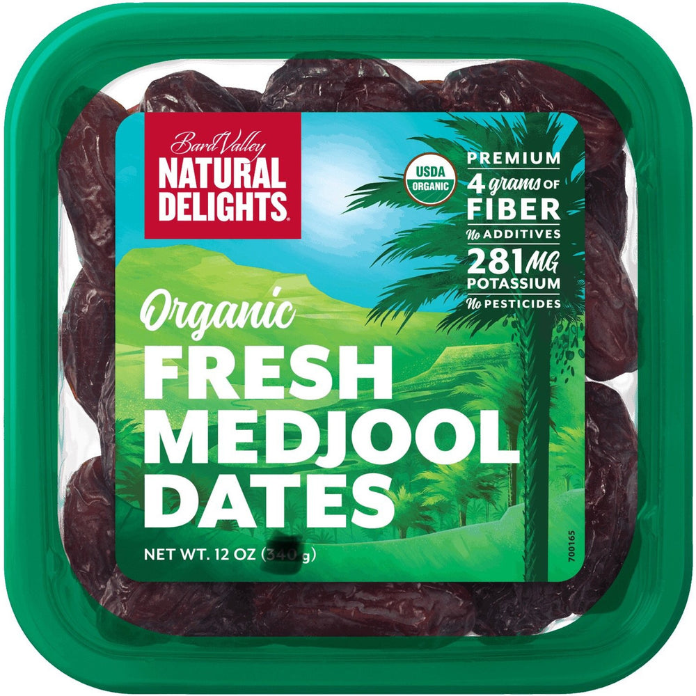 Natural Delights Organic Fresh Medjool Dates 907g