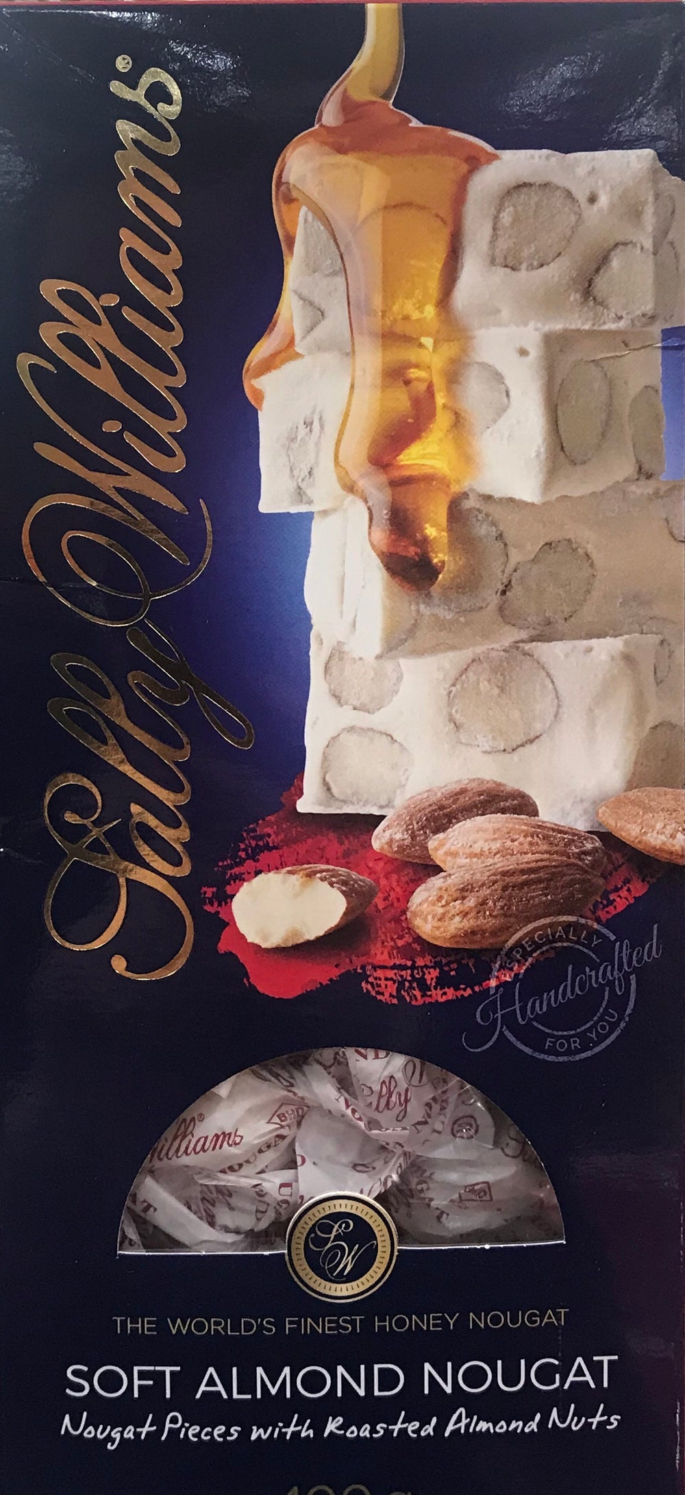 Sally Williams Soft Almond Nougat 400g