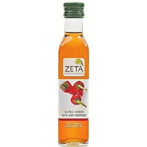 Zeta Extra Virgin Olive Oil With Hot Peppers 250Ml