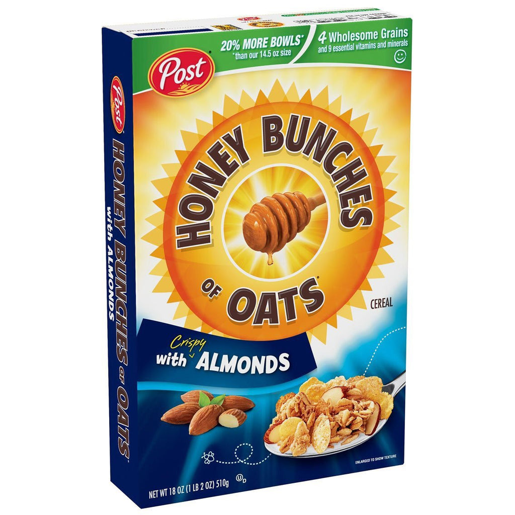 Post Honey Bunches Of Oats Cereal 510g